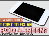 How Much Does It Cost to Fix An iPod Screen