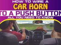 How to Wire a Car Horn to a Push Button